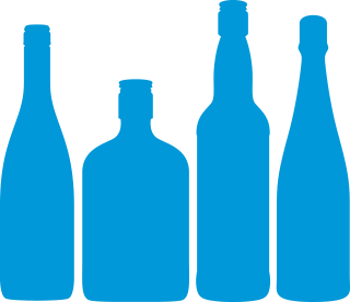 Own-label alcohol logo