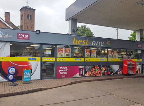 Best-one Petrol Station Forecourt Shop